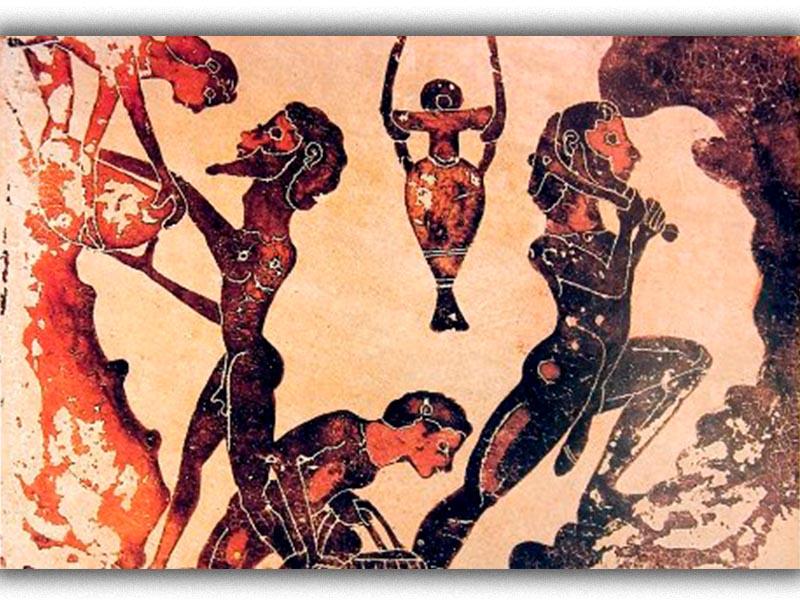 Δουλική εργασία στα μεταλλεία του αρχαίου Λαυρίου