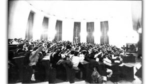 Λαϊκή Δημοκρατία Βουλγαρίας - Σύλλογος Φοιτητών Πανεπιστημίου Σόφιας - Γενική Συνέλευση, 10-1988