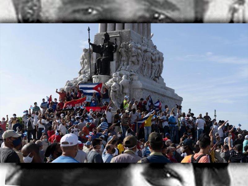 Κούβα - Απάντηση στους αντεπαναστάτες, 12-07-2021